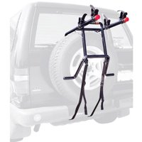 Allen Sports Deluxe 2-Bicycle Spare Tire Mounted Bike Rack, 302DN