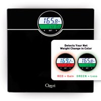 Ozeri WeightMaster 400 lbs Digital Bath Scale with BMI and Weight Change Detection