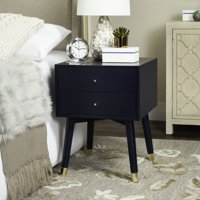 Safavieh Lyla 2-Drawer Mid-Century Retro Night Stand