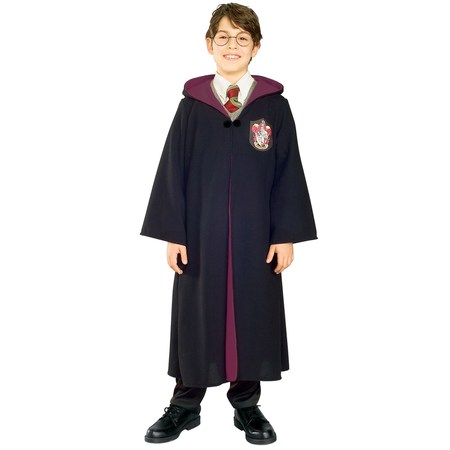 Boys Deluxe Harry Potter Robe Costume - Harry Potter Slytherin Robe