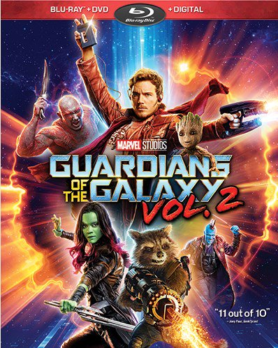 Guardians of the Galaxy Vol. 2 (Blu-ray + DVD + (Dave Bautista Guardians Of The Galaxy 2)