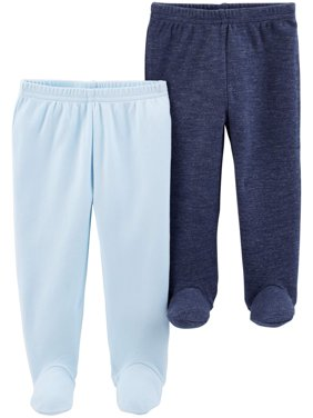 Footed Pants, 2-pack (Baby Boys)