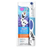 Oral-B Kids Electric Rechargeable Power Toothbrush Featuring Disney's Frozen, includes 2 Sensitive Brush Heads, Powered by Braun