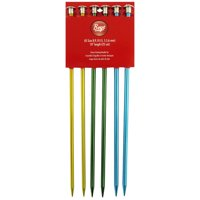 Single Point Aluminum Knitting Needles, Sizes 8-10, 10pc