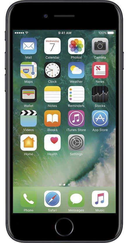 Apple iPhone 7, GSM Unlocked 4G LTE- Black, 32GB (Certified Refurbished)](iphone 5s unlocked 32gb black)