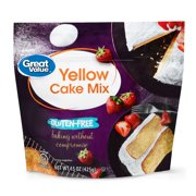 Great Value Gluten-Free Yellow Cake Mix, 15 oz
