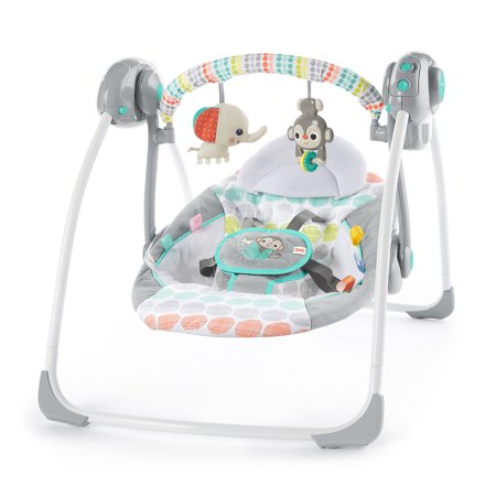 Bright Starts Whimsical Wild Portable Swing (Portable Baby Swings)