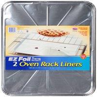 Hefty EZ Foil Oven Rack Liners, 18 x 16 Inch, 2 Count
