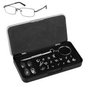 715d05edab Eyeglasses Repair Kit – Small Screws and Nose Pads Set with Screwdriver for  Glasses