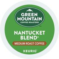 (4 Pack) Green Mountain Coffee Nantucket Blend, Keurig K-Cup Pods, Medium Roast, 18 Count