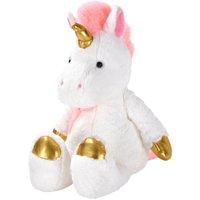 "Spark. create. imagine. 12"" metallic unicorn plush animal"