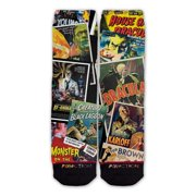 Function - Horror Movie Posters Fashion Sock