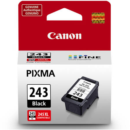 Canon PG-243 Black Ink Cartridge Canon Fax Inkjet Cartridges