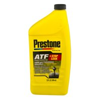 Prestone ATF + Stop Leak Automatic Transmission Fluid, 32.0 FL OZ