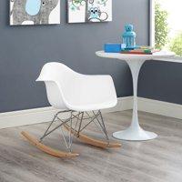Modway Rocker Kids Contemporary Lounge Armchair, Multiple Colors