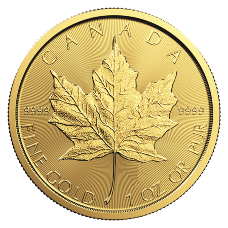 Gold Ms70 Coin Set (Canadian Gold Maple Leaf 1 oz Coin - Random Year )