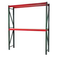Storage Max Bulk Rack Shelving, 96 x 36 x 72, Heavy Duty