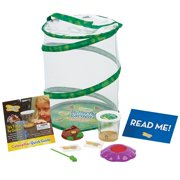 e8d3458c25 Insect Lore Butterfly Garden with Live Caterpillars and Feeding Kit
