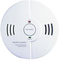 Kidde Nighthawk Intelligent Battery Operated Ionization Combination Smoke And Carbon Monoxide Detector, 2 AA Batteries