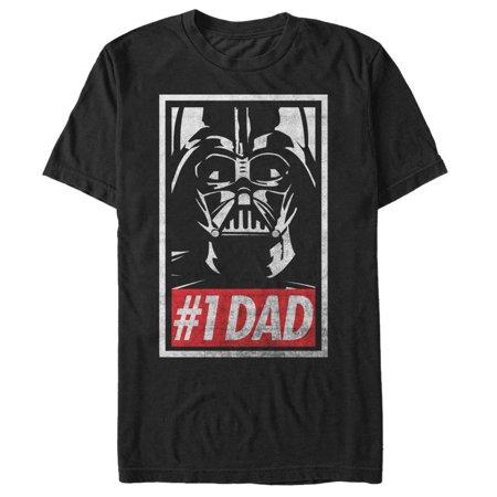 Star Wars Men's Darth Vader Number One Dad T-Shirt](Darth Vader T Shirt)