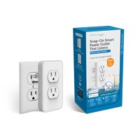 Switchmate Power Voice-Activated Wire-Free Smart Outlet, No Hub Required