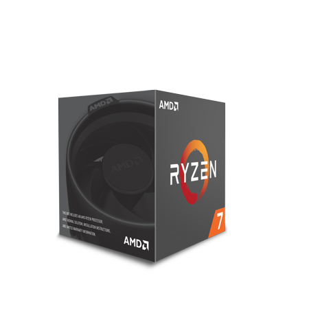 AMD RYZEN 7 2700 8-Core 3.2 GHz Socket AM4 65W Desktop Processor (Best Amd Am3 Processor For Gaming)