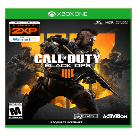 - Call of Duty: Black Ops 4, Xbox One, Only at Wal-Mart