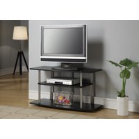 Convenience Concepts Designs2Go No Tools 3 Tier Wide TV Stand, Multiple Colors