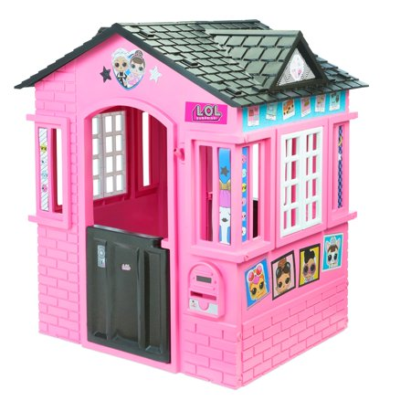 L.O.L. Surprise! Indoor and Outdoor Cottage Playhouse with Glitter (Caribbean Cottage)
