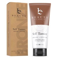 Self Tanner - Organic & Natural Sunless Tanning Lotion for Best Bronzer and Golden Tan
