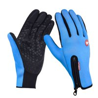 Sawpy Winter Gloves for Women and Men Touchscreen Windproof Thermal Outdoor Ski Leisure Snowboarding Motorcycle Camping Thermal Gloves