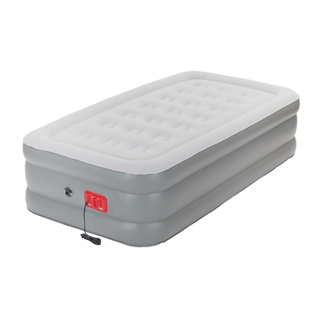 Coleman SupportRest Elite Double-High Inflatable Air Mattress Bed with Built-In Pump,
