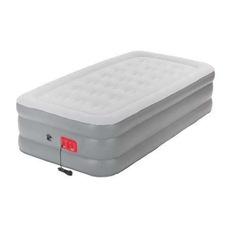 Coleman SupportRest Elite Double-High Inflatable Air Mattress Bed with Built-In Pump, Twin