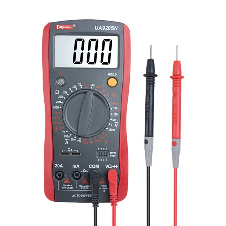Digital Multimeter Voltmeter Ammeter Capacitance Tester 30 Range Auto Power (Multi Function Cable Tester)