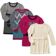 c18a6dd25 Healthtex Baby Toddler Girl Novelty Sweater Dresses, Your Choice