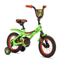 """Kent 12"""" Boys', Dino Power Bike, Green, For Ages 2-5"""