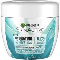 Garnier SkinActive Hydrating 3-in-1 Moisturizer Day/Night Mask, 6.75 fl oz