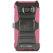 BUDDIBOX [HSERIES] Galaxy S6 EDGE PLUS Case Heavy Duty Durable Belt Clip Holster Protective