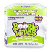 Boogie Wipes Simply Unscented Saline Baby Wipes (90 count)