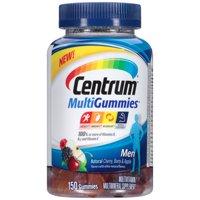 Centrum MultiGummies Men Multivitamin Gummies, 150 Ct