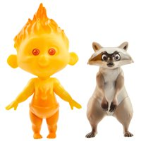 Incredibles 2 Champion Series Action Figures - Jack-Jack & Raccoon