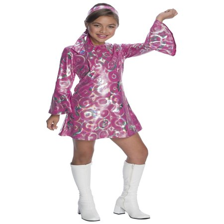 Girls Disco Princess Costume - Girl Disco Costume