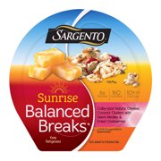 Sargento® Sunrise Balanced Breaks® with Colby-Jack Natural Cheese, Coconut Clusters and Dried Cranberries, 3 Count
