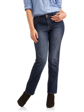 "Women's Ultimate Stretch Straight Leg 30"" Inseam Jeans"