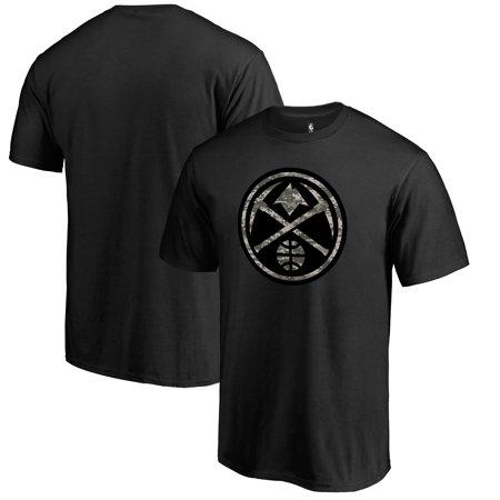 Denver Nuggets Fanatics Branded Camo Collection Cloak T-Shirt - Black ()
