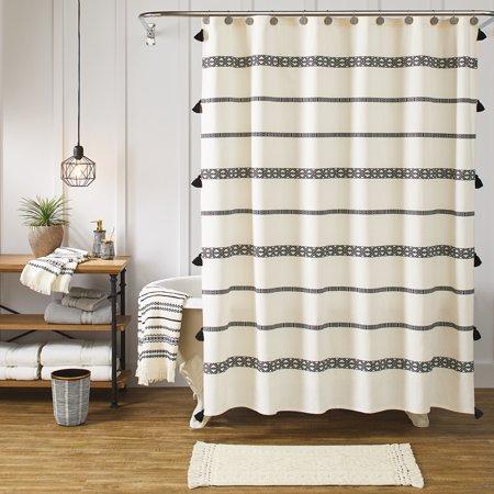 "Better Homes & Gardens 72"" x 72"" Tribal Chic Shower Curtain, 1 Each"