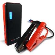 Schumacher 800-Amp Li-Ion Jump Starter with USB Ports and LCD Display