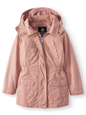 Cotton Anorak Jacket with Pockets (Little Girls & Big Girls)