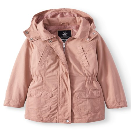 - Cotton Anorak Jacket with Pockets (Little Girls & Big Girls)