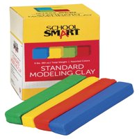School Smart Modeling Clay Set, 5 Pounds, Assorted Standard Colors
